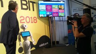 Robotok, drónok a CEBIT előzetesen: a jövő elérkezett