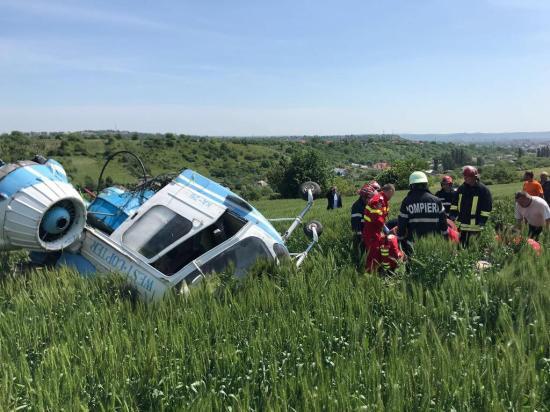 Lezuhant egy helikopter Torda mellett (FRISSÍTVE)
