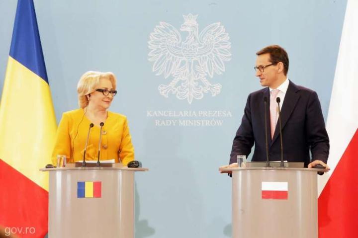Morawiecki-Dăncilă találkozó Varsóban