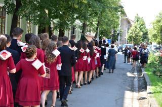 Elbúcsúztak iskolájuktól a református kollégisták