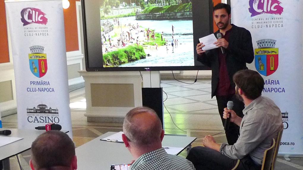 Kolozsvári fórum a Szamos-part felújításáról