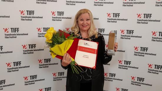Széles Anna kapta a TIFF egyik életműdíját