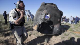 Visszaérkezett a Földre a Szojuz MSZ-07 űrhajó