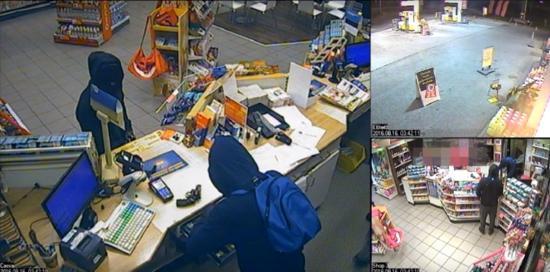 Kiraboltak egy benzinkutat. Mennyi pénzzel távoztak a tolvajok?