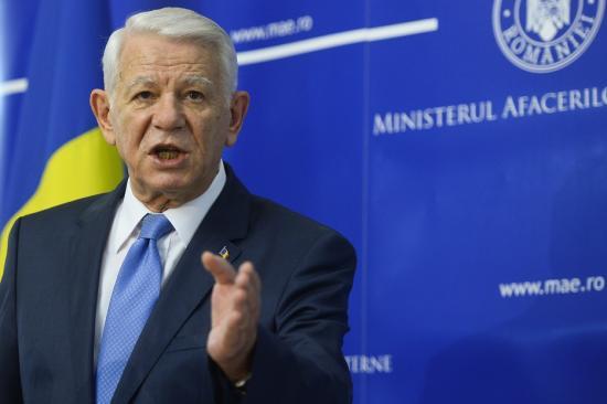 Meleșcanu: Románia fejleszteni akarja kapcsolatait szomszédaival