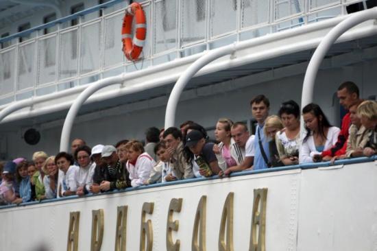 Összeütközött két hajó a Volgán, többen meghaltak