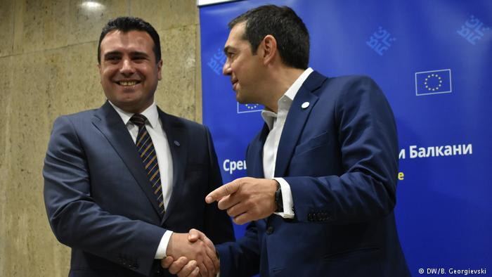 Zaev és Ciprasz a