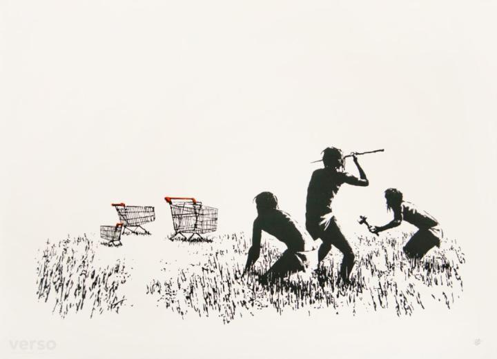 VIDEÓ - Ellopták Banksy egy képét egy torontói kiállításról