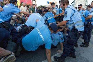Bukaresti incidensek - A felelősök számonkérését követeli a PNL