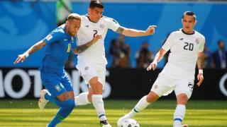 Vb-2018, E-csoport, 2. forduló: Megszerezte első győzelmét Brazília