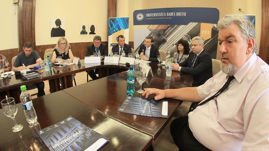 Öt felsőoktatási intézmény vezetői tanácskoznak Kolozsváron