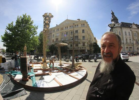 Életet dicsőítő szabadtéri szobortárlat Kolozsváron