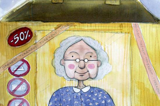 Az összecsukható nagymama – bemutató a Puck Bábszínházban
