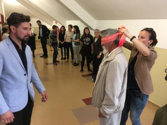 Mátyás világtalan világa kiállítás nyílt Szamosújváron