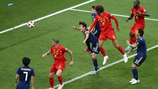 Vb-2018 – Belgium 0–2-ről fordított, a 94. percben lőtt góllal győzte le Japánt
