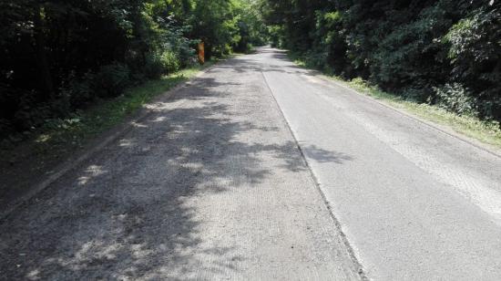 FOTÓK - Javítások a Magyarkapus-Egerbegy-Dongó-Riska úton