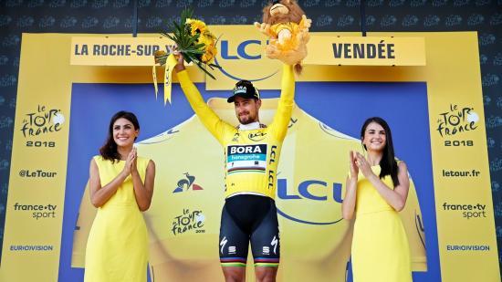 Rajt a 105. Tour de France nemzetközi kerékpáros körversenyen