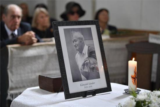Eltemették szülőfalujában Kányádi Sándort