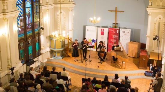 Hangolódás a Régizene Fesztiválra a Trionfale zenekarral