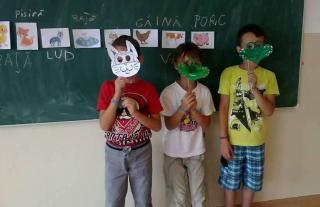 Játszva beszélni románul a szamosújvári nyelvtáborban