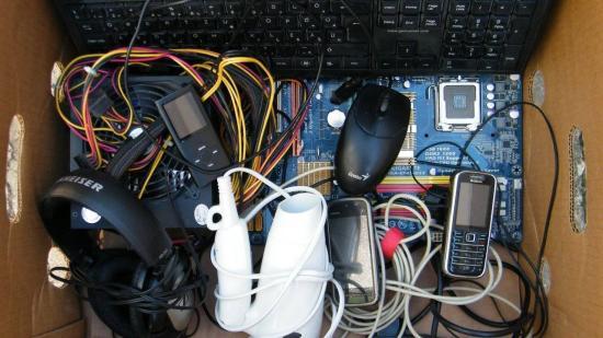 Elektromos és elektronikus hulladékokat gyűjtenek Kolozsváron