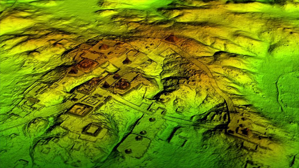 A nemrég a LIDAR (lézeres) technológiával felfedezett maja városok
