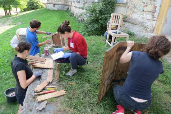 Kezdődik a műemlék restaurálási tábor Bonchidán