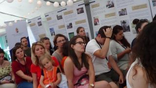 VIDEÓ - Először működött vallásszabadság sátor Tusványoson