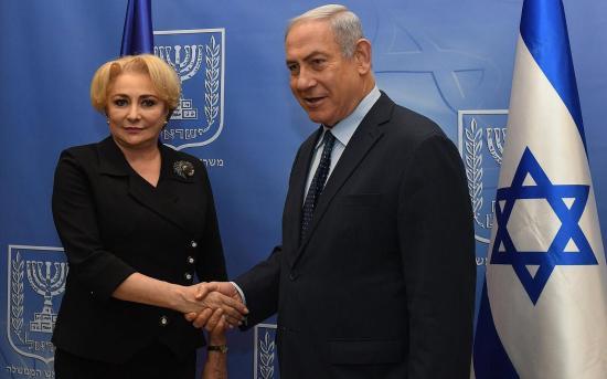 Román–izraeli kormányülés lesz novemberben