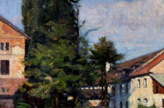 Hollósy Simon festőre emlékeznek a Művészeti Múzeumban