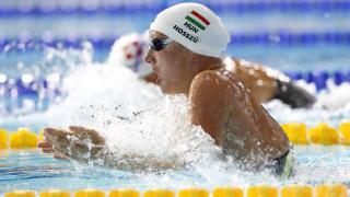Hosszú Katinka aranyérmes 200 méter vegyesen, Burián, Cseh és Milák döntős