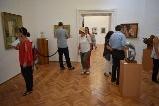 A Donát negyedi műtermek alkotóközössége a Művészeti Múzeumban