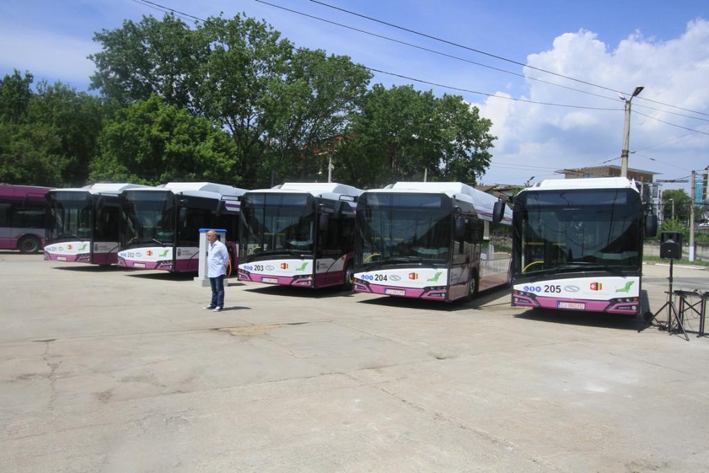Ugyanez a cég szállította le az elektromos buszokat