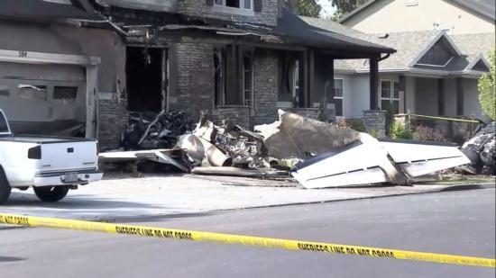 Kisgéppel a házukba repült egy férfi Utah-ban, meg akarta ölni családját