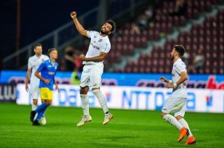 Európa Liga: ötgólos győzelem Kolozsváron, siker Bukarestben is