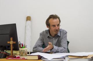 Tamási Zsolt a katolikus gimnázium igazgatója