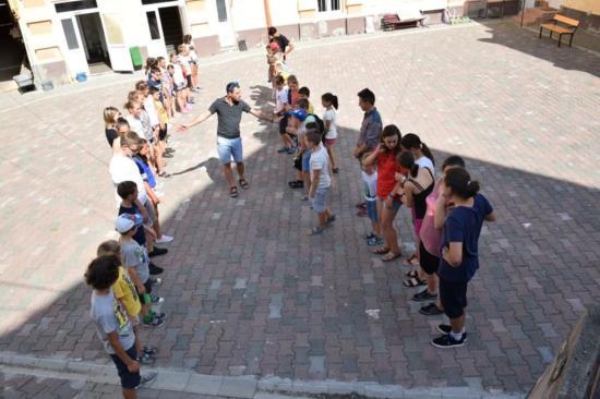 Játékos nyelvtanulás a dési angoltáborban