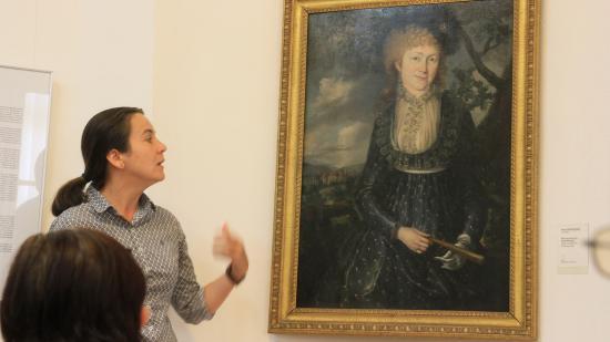 Arisztokraták portréit mutatták be a Bánffy-palotában