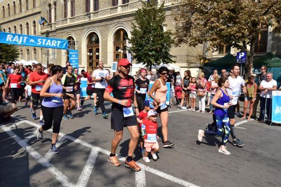 Népszerű volt a Donaton futóverseny