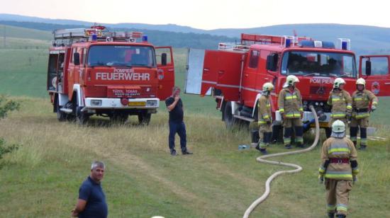 Körösfői községnapok tűzoltó-bevetéssel