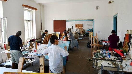 Inter-Art: Egymás alkotásaira is büszkék voltak a művészek