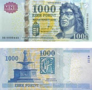 Magyarországon október végéig lehet fizetni a régi ezer forintosokkal