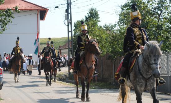 Őrségváltás a 10. Magyarlapádi falunapokon