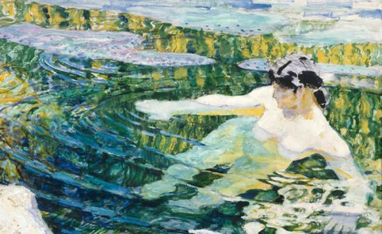 Nagyszabású kiállítás Frantisek Kupka műveiből Prágában