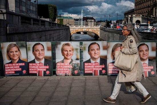 Parlamenti választást tartanak Svédországban