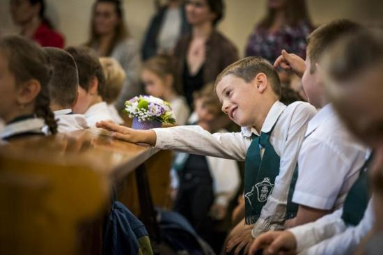 Tanévnyitás az újralapított marosvásárhelyi katolikus gimnáziumban
