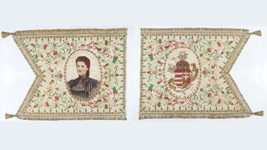 Megtekinthető az Erzsébet-lobogó a történeti múzeumban
