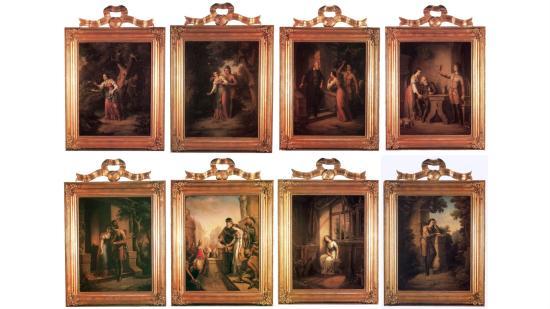 Kiállítják a több mint 150 éves Szép Ilonka festménysorozatot