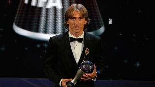 Luka Modrics az év játékosa a FIFA-nál