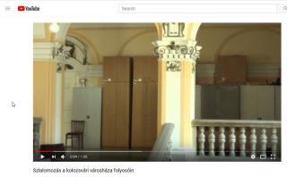VIDEÓ - Szlalomozás a kolozsvári városháza folyosóin